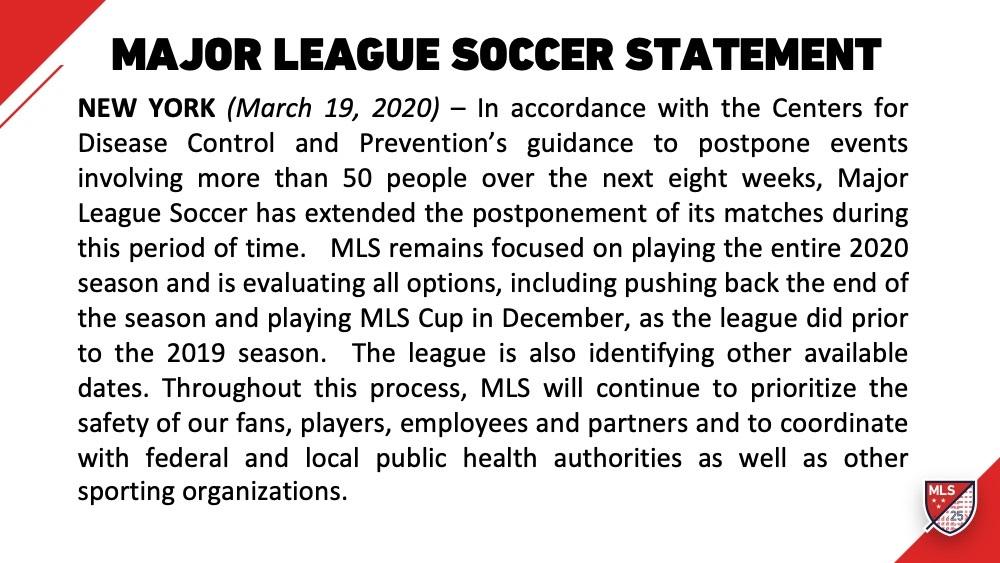 MLS CDC