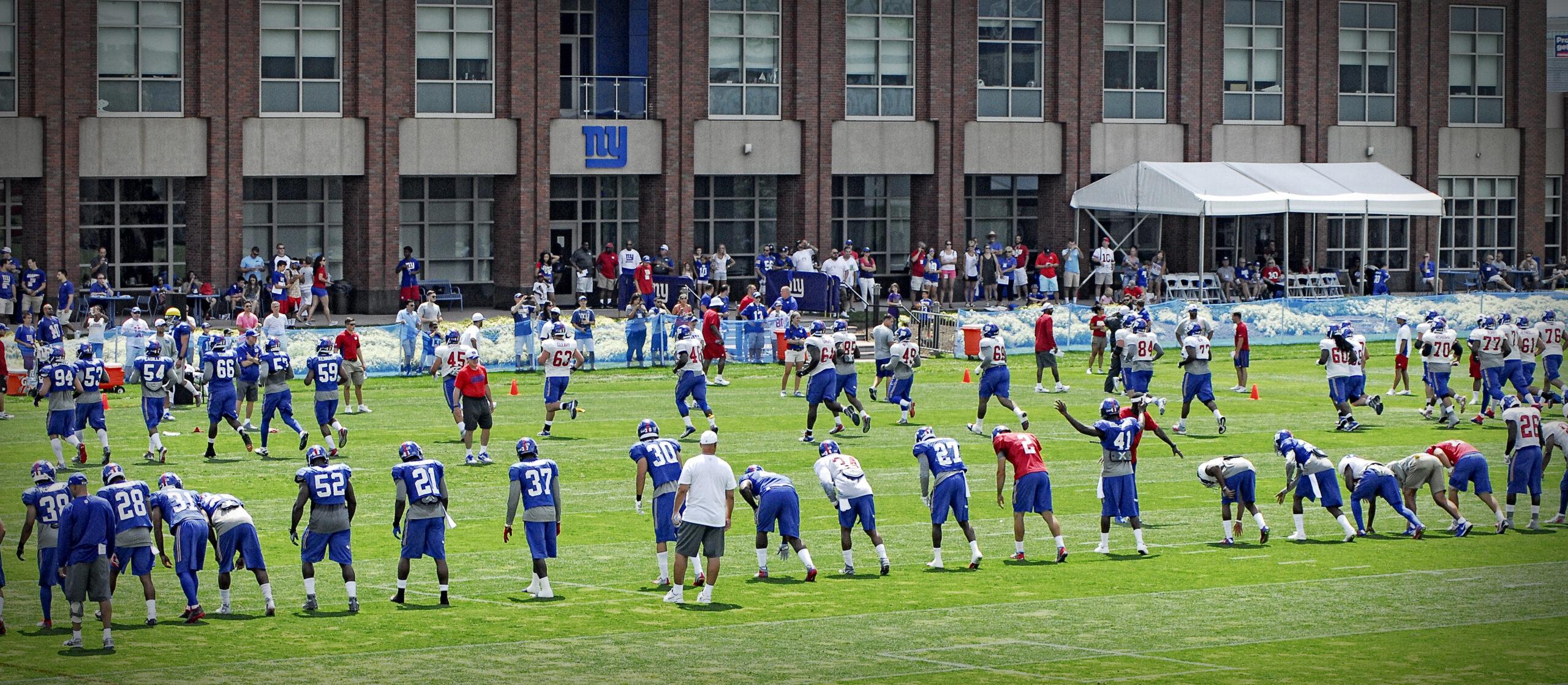 2015 New York Giants Training Camp