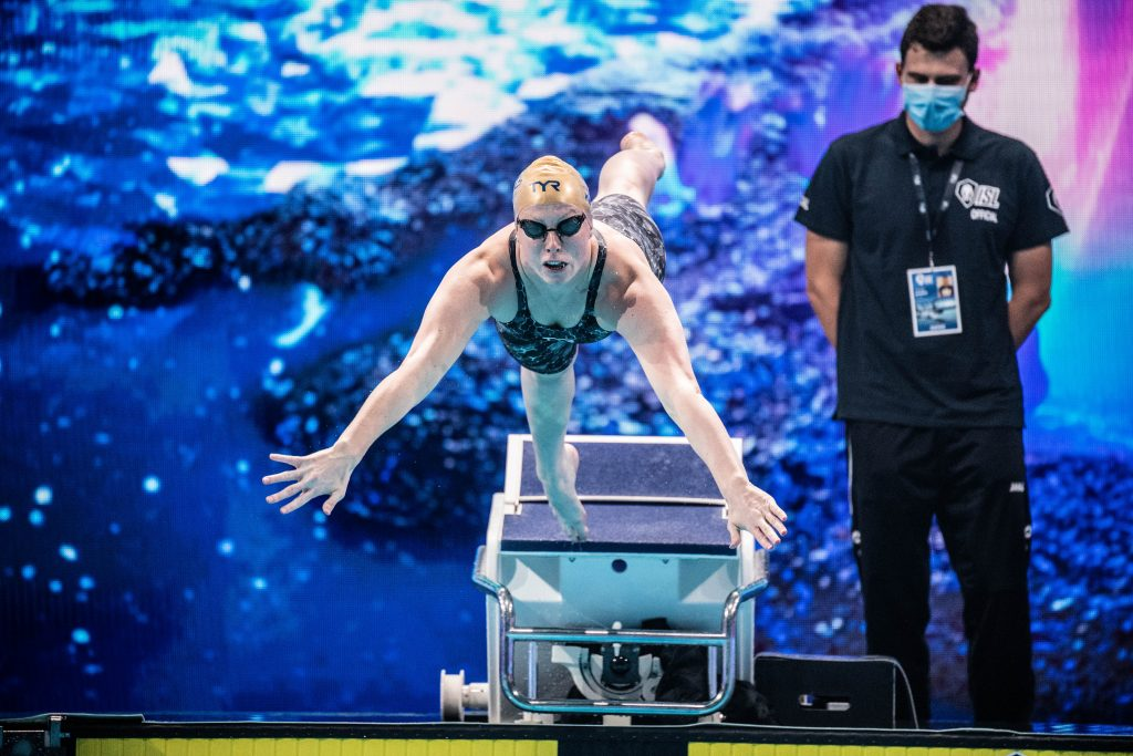 Olympic gold medalist Lilly King, in the zone, swimming, interview, olympics, Lilly King