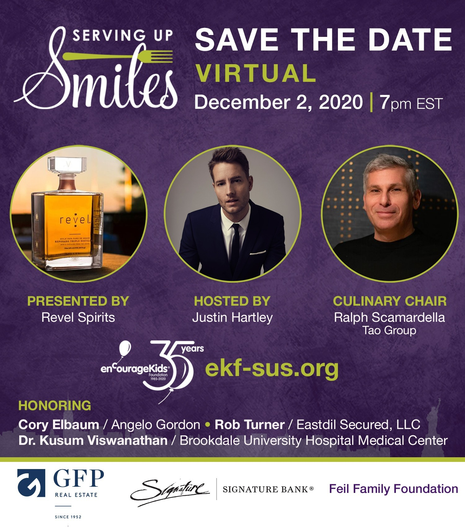 Serving Up Smiles Virtual Event