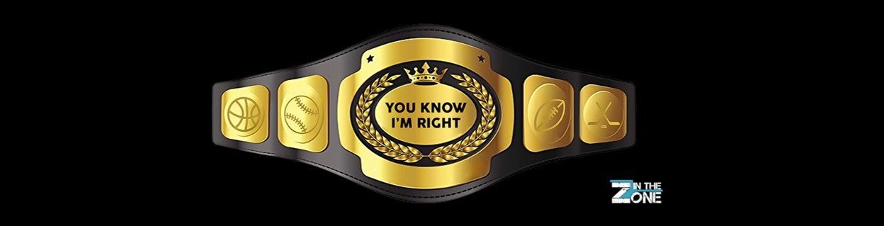 You Know I'm Right Belt Banner