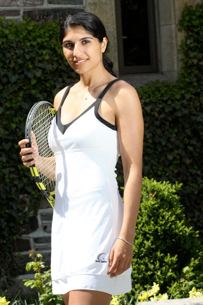Neha Uberoi Khangoora, in the zone, tennis